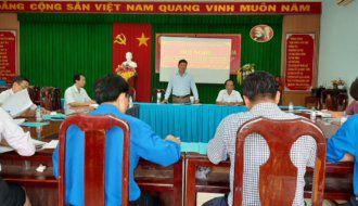 Đoàn Khối các cơ quan và Doanh nghiệp tỉnh Trà Vinh tham gia góp ý xây dựng Đảng, xây dựng chính quyền năm 2019