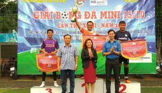 Giải bóng đá mini truyền thống 15/10 khối các cơ quan và doanh nghiệp tỉnh Trà Vinh lần thứ XVIII, năm 2020