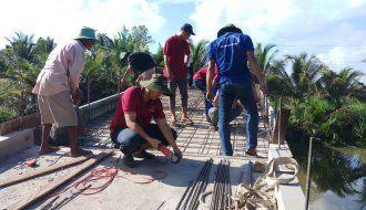 """Công trình thanh niên """"Đoàn viên thanh niên khối các cơ quan chung tay xây dựng nông thôn mới"""""""