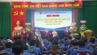 Đoàn khối các cơ quan và doanh nghiệp tỉnh Trà Vinh đăng cai tổ chức Hội nghị Giao ban Đoàn khối khu vực miền Nam lần thứ I, năm 2020