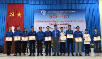Đoàn khối Trà Vinh họp mặt kỷ niệm 90 năm  Ngày thành lập Đoàn TNCS Hồ Chí Minh (26/3/1931 – 26/3/2021) Tuyên dương chi đoàn mạnh tiêu biểu năm 2021