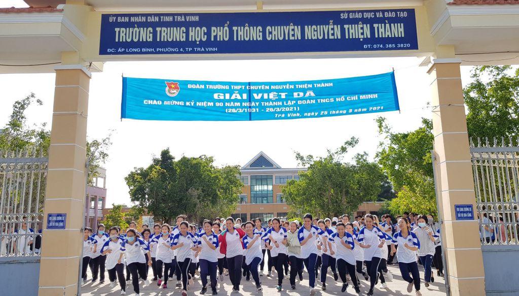 Đoàn trường THPT chuyên Nguyễn Thiện Thành Chạy Việt dã chào mừng 90 năm ngày thành lập Đoàn TNCS Hồ Chí Minh (26/3/1931 – 26/3/2021)