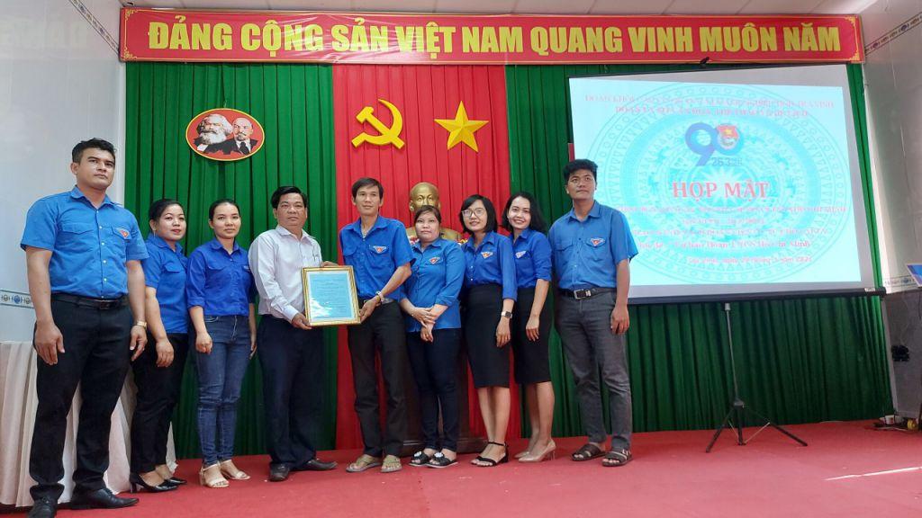 Đoàn ủy Sở Văn Hóa, Thể thao và Du lịch  Tổ chức họp mặt kỷ niệm 90 năm Ngày thành lập Đoàn và trao danh sách Đoàn viên ưu tú cho đảng năm 2021