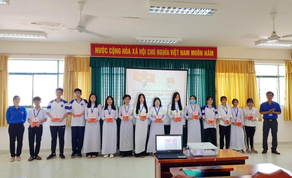 Đoàn khối Trà Vinh: 282 Thanh niên ưu tú được kết nạp vào Đoàn TNCS Hồ Chí Minh trong Tháng thanh niên 2021