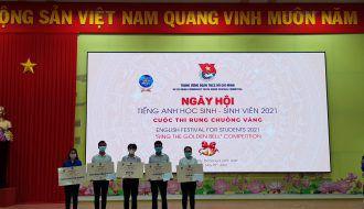 Đoàn Trường chuyên Nguyễn Thiện Thành đạt giải Nhì, Ba tại Ngày hội tiếng Anh học sinh – sinh viên 2021