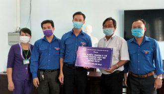 Đoàn khối Trà Vinh tổ chức thăm hỏi, tặng quà cho các em thiếu nhi tại Trung tâm bảo trợ xã hội tỉnh