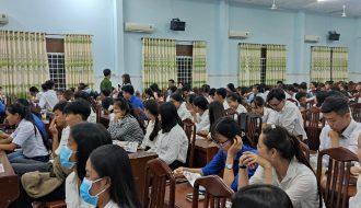 Đoàn Trường Cao đẳng Y tế Trà Vinh tổ chức tập huấn, hướng dẫn kỹ năng thực hành xã hội cho sinh viên năm học 2020 – 2021