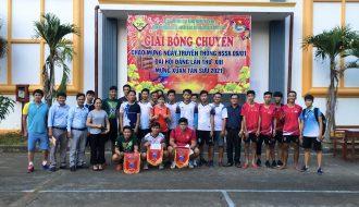 Đoàn trường Cao đẳng nghề tổ chức giải bóng chuyền chào mừng Ngày truyền thống HSSV 2021