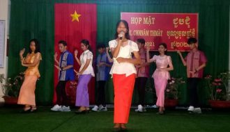 Đoàn Trường DTNT Trung học phổ thông tỉnh tổ chức chương trình văn nghệ chào mừng Tết cổ truyền người dân tộc Khmer 2021