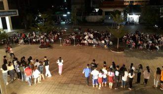 Đoàn Trung tâm GDTX HNDN TP. Trà Vinh tổ chức các hoạt động giao lưu văn nghệ giữa các câu lạc bộ tổ, nhóm của trường