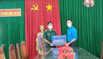 Đoàn khối tổ chức giao lưu, thăm hỏi cán bộ, chiến sĩ Đồn biên phòng Long Hòa, huyện Châu Thành
